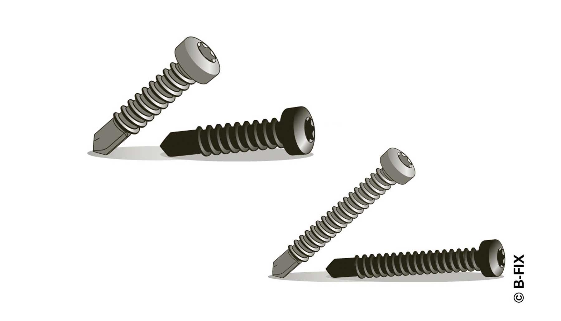 B-fix-alumiini-ja-metalliruuvit