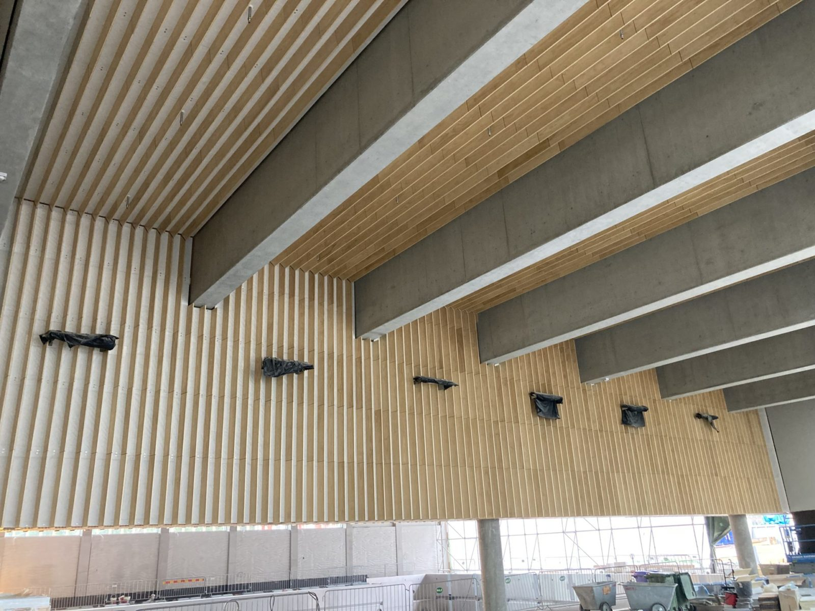 Matinkylän uimahalli_allashuoneen katto
